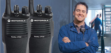 Motorola Portable Two Way Radios